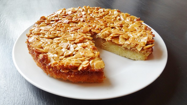 Almond Caramel Pie