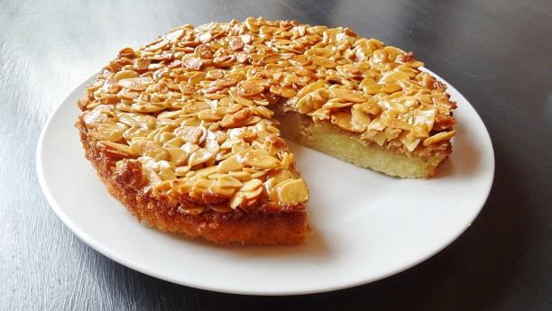 Almond Caramel Pie