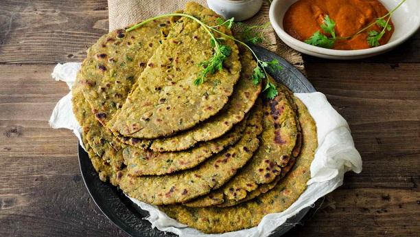 Bajra Aloo ki Roti
