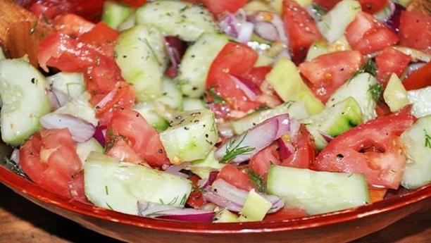 Banana Tomato Salad