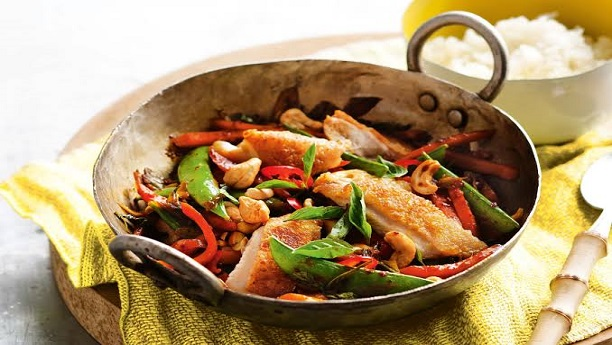 Basil chili chicken
