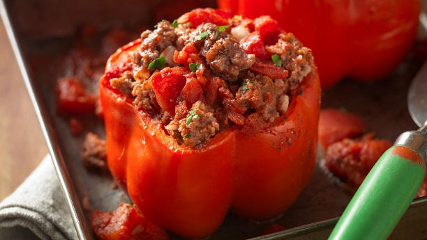 Beef Stuffed Peppers