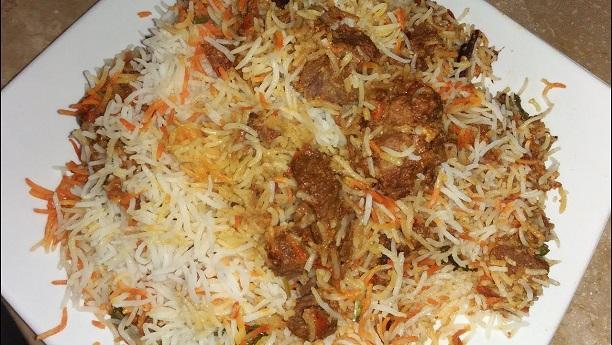 Beef Tikka Biryani