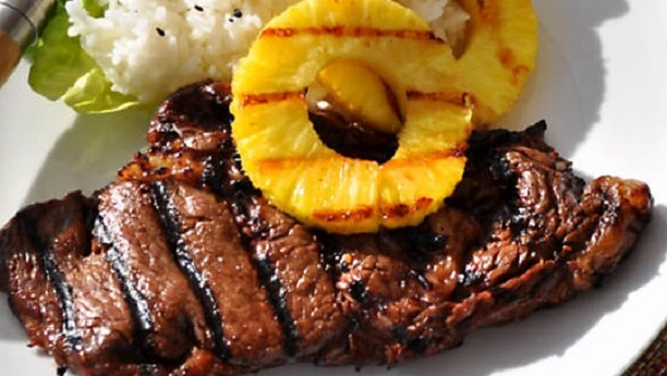 Beef and Pineapple Salad