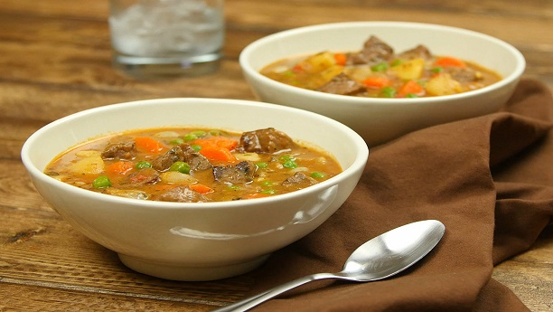 Beefy Harvest Soup
