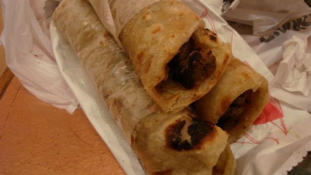 بہار ی چکن کباب رول