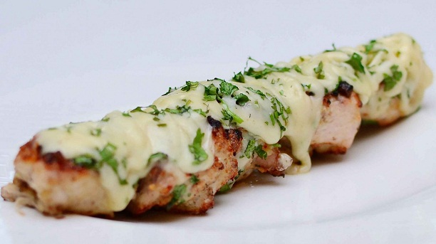 CHEESE CHICKEN KEBAB