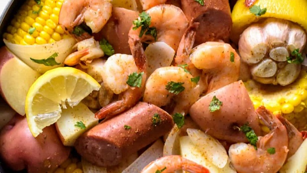 Chesapeake Shrimp Boil