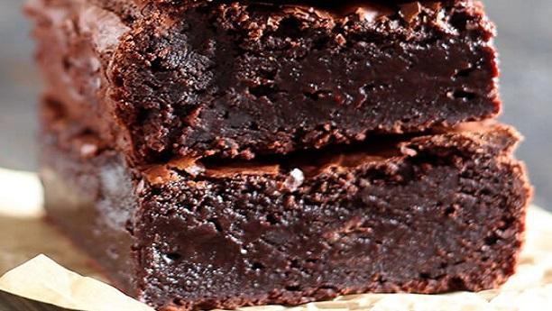 چیوی چاکلیٹ براونیز