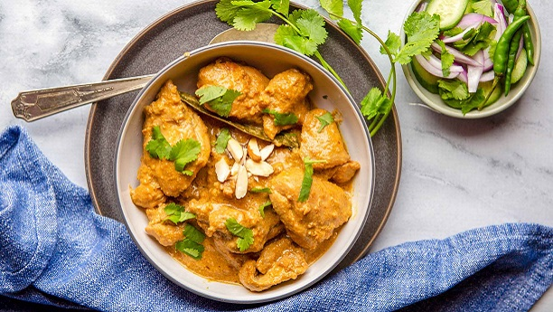 Chicken Almonds Korma