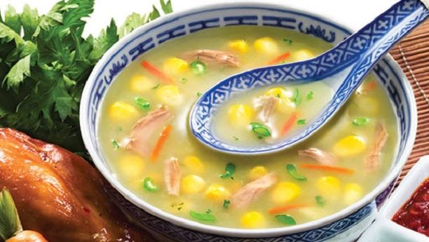 چکن کارن سوپ