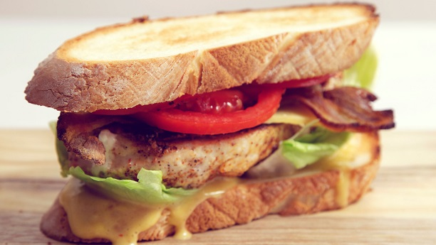 Chicken Fillet Sandwich By Shreen Anwar