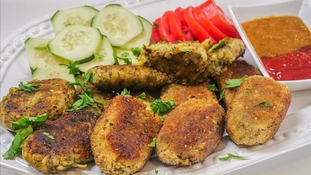 Chutney Bharay Shaami Kabab