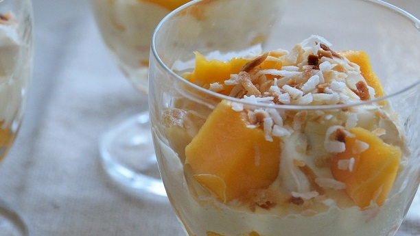 Coconut Mango Fool