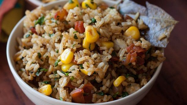 Corn And TomaTo Rice