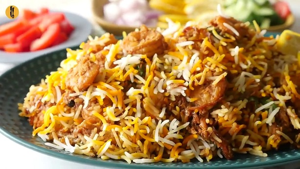 Curried Rice with Prawns (Jinga Biryani)
