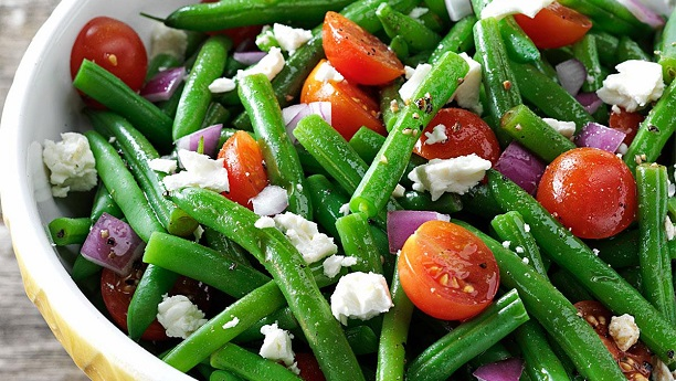 Dilly Green Bean and Tomato Salad