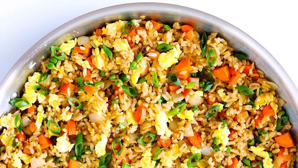 Egg Vegetable Fried Rice