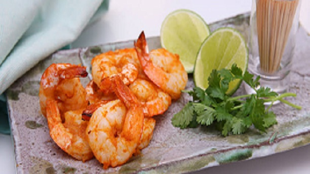 Ginger spiced Prawns