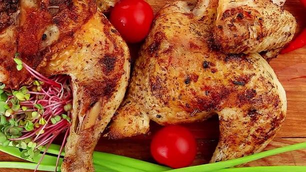 Green Chili Roast Chicken
