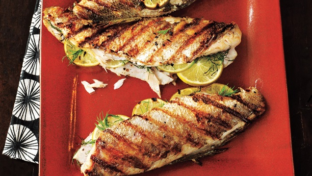 Hot Grilled Trout