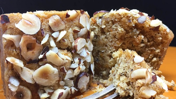 Kewra And Almond Cork Cake