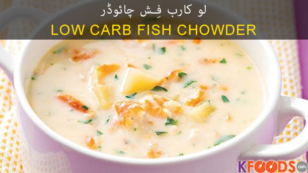 Low Carb Fish Chowder