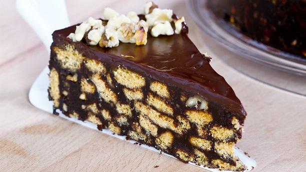 نو بیک چاکلیٹ کیک