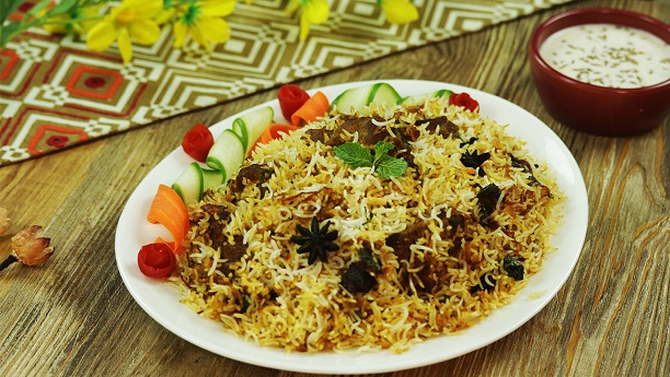 Pakistani Spicy Biryani