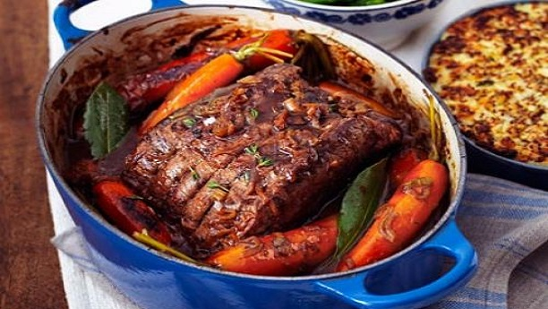 Pot Roasted Beef