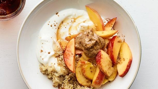Quinoa-Yogurt Parfai