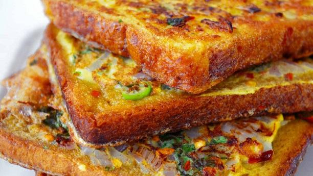 Savoury Toast (Masala Toast)