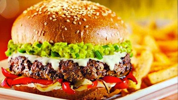 Spicy Mutton Tikka Burger