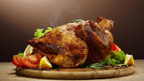 Steam Roasted Chicken By Chef Fauzia