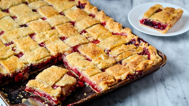 Strawberry Cherry Pie