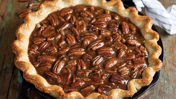 Sweet Potato Pie With Caramel Nut