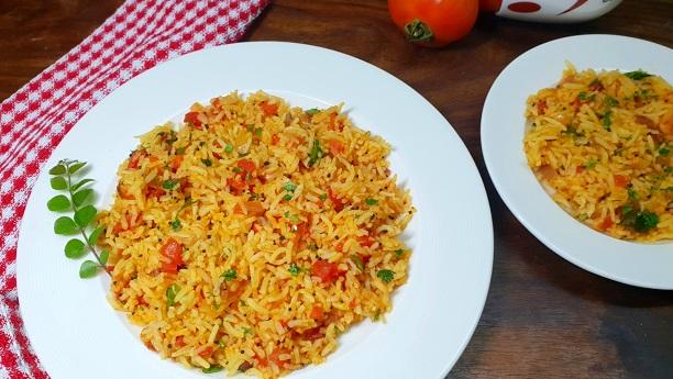 Tomato Rice (Tamatar chawal)