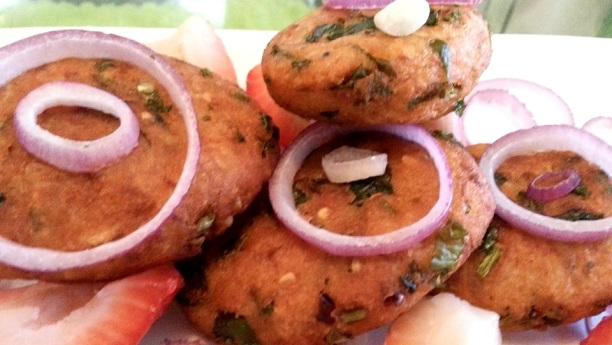 Turnip (Shaljam) Kababs