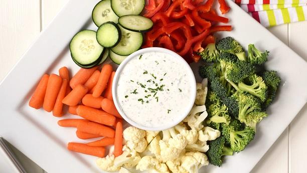 Vegetable Yogurt Dip