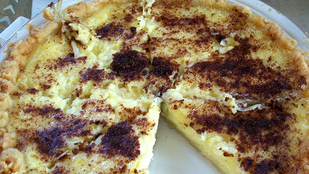 Baked Cottage Cheese Pie