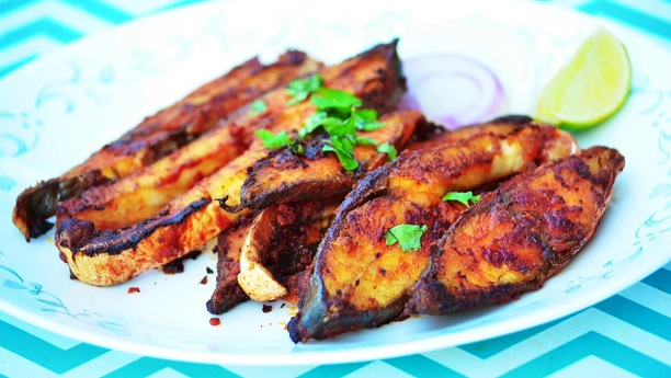 Baked Spiced Fish (Tandoori Machi)