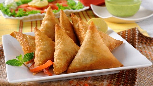Chinese Chicken Samosa