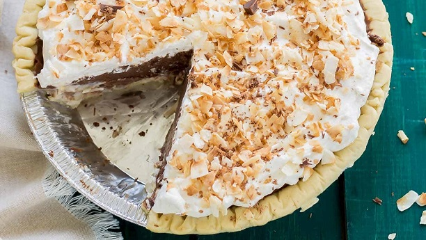 Chocolate Coconut Cream Pie