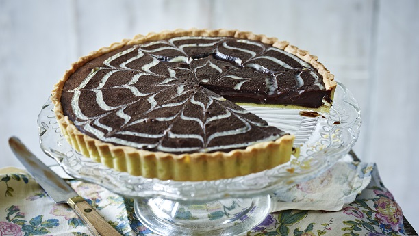 Chocolate Orange Layer Pie