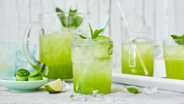 Cucumber Cooler with Mint
