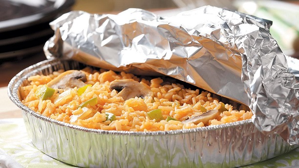 Foil Baked Rice By Rida Aftab