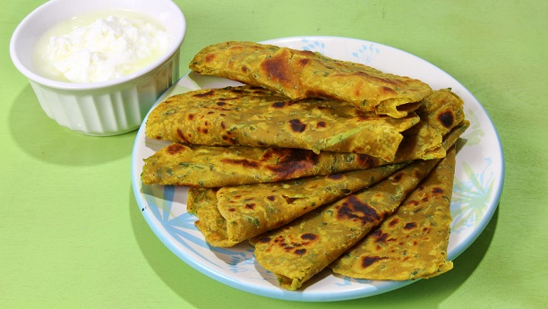 Fresh Fenugreek Paratha