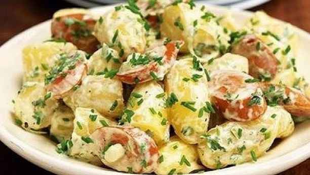 GERMAN SAUSAGE SALAD
