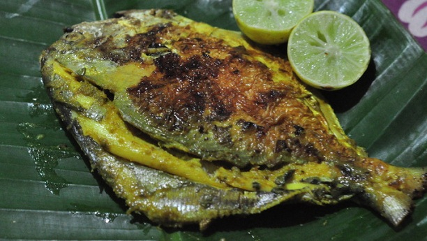 Green Masala Fish