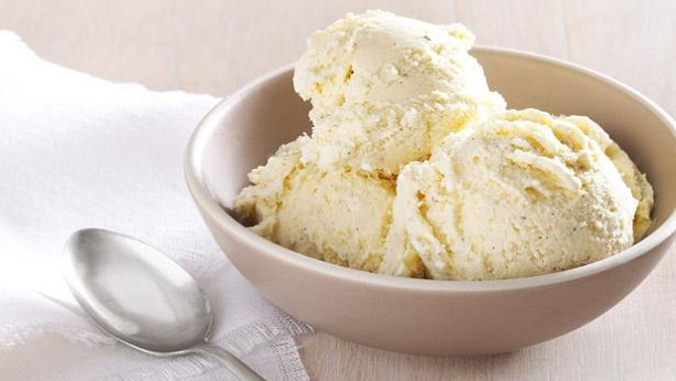 Homemade Honey Yogurt Ice Cream
